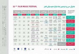 نگاهی به اجراهای جشنواره موسیقی فجر
