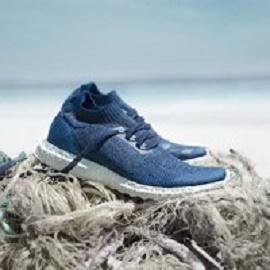 تولیدکفش از زبالههای پلاستیکی سطح دریاها