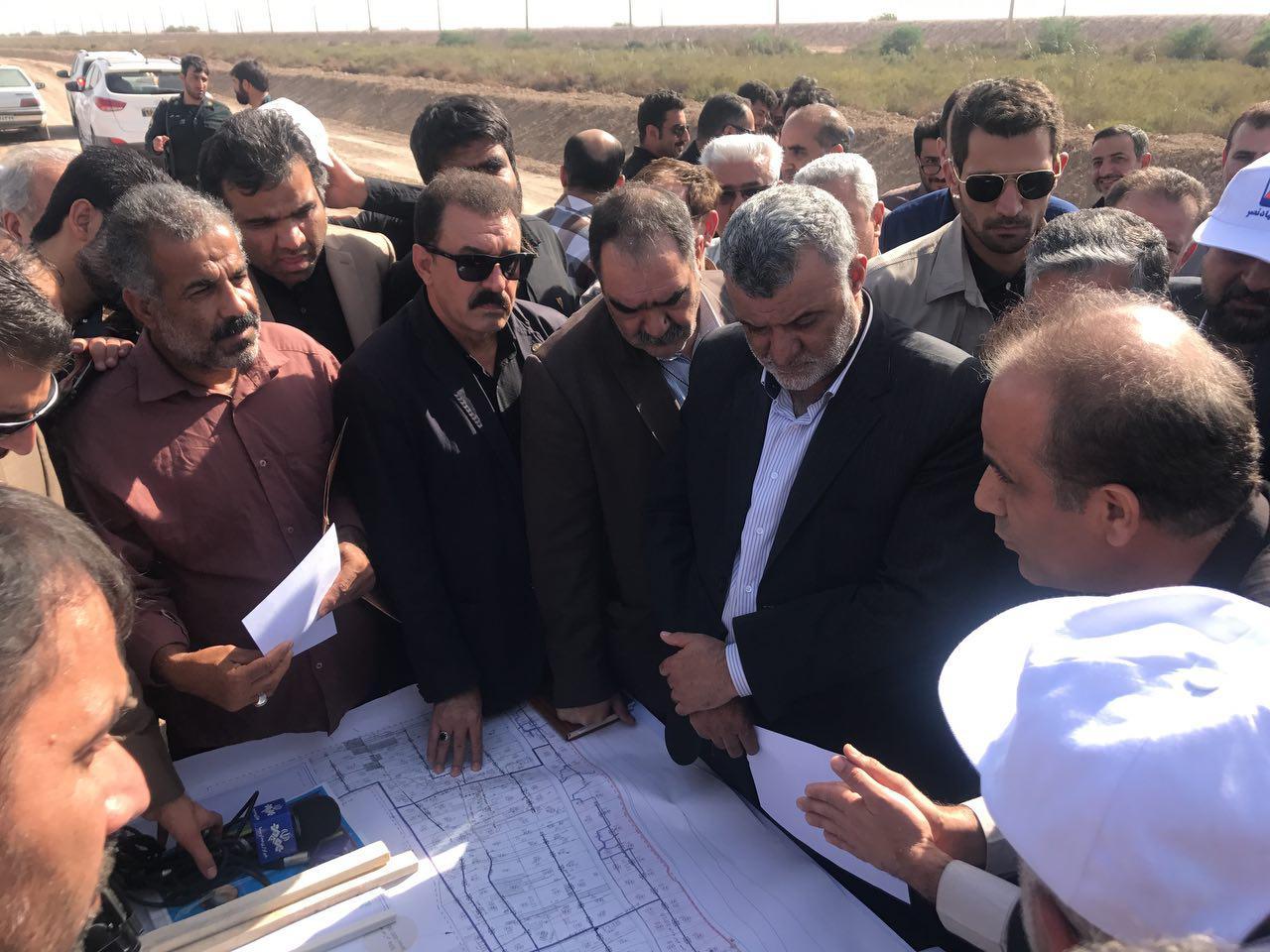 ۲۷۰ هزار هکتار از طرح ۵۵۰ هزار هکتاری رهبری در خوزستان اجرا شد