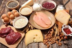 5 منبع غذایی غنی و خوشمزه برای عضله سازی + اینفوگرافی