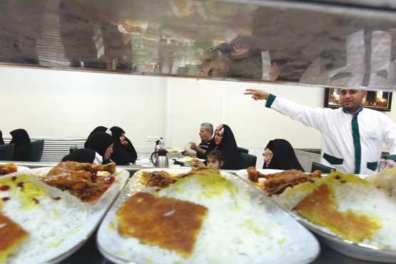 ثبت نام ژتون غذا امام رضا
