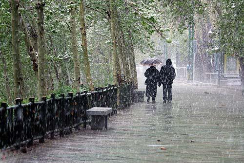 نتیجه تصویری برای بارش باران