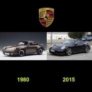 تغییر ظاهری خودروها از ۳۵ سال قبل تا امروز