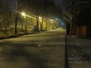 تگرگ زمستانی در کوچه های تهران