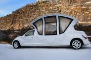 رویایی ترین ماشین عروسی که تا بحال دیده اید!