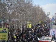 راهپیمایی 22 بهمن 1394 تهران در سالروز پیروزی شکوهمند انقلاب اسلامی