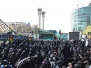 تجمع عاشقان حضرت فاطمه زهرا(س) در میدان فاطمی