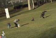 وقتی که عقاب کودک شکار میکند