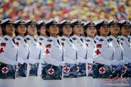 نظم حیرت انگیز و فتوشاپی رژه ارتش چین