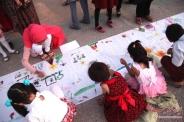 برگزاری جشن بادبادک ها در قشم همزمان با روز جهانی کودک