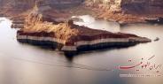 تصاویر دریاچه زیبای  پاول در آریزونا
