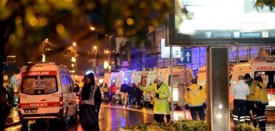 فیلم : دقایقی پس از حمله تروریستی به باشگاه شبانه استانبول