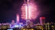 جشن های آغاز سال 2017 در نقاط مختلف جهان