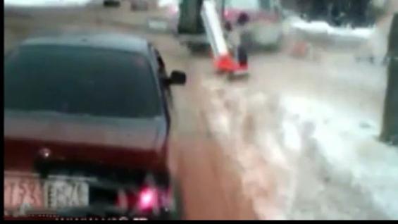 فیلم : پرتاب مرگبار بیمار به خیابان پس از تصادف آمبولانس