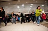 تصاويري از هجوم مردم به فروشگاهها در جمعه سياه آمريکا