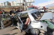 تصادف مرگبار پراید و پژو در تهران