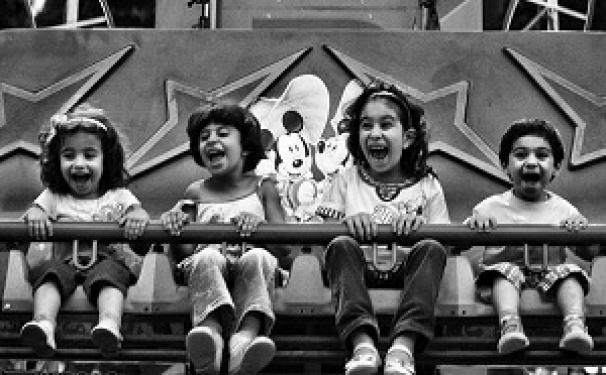 تصاویر هیجان انگیز از شهربازی تهران