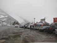 آخرین برف فروردین 95 در جاده چالوس+ تصاویر