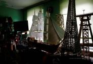 ساخت سازه های زیبا با میلیونها چوب کبریت + تصاویر