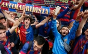 جشن قهرمانی عجیب بارسلونا در گرانادا