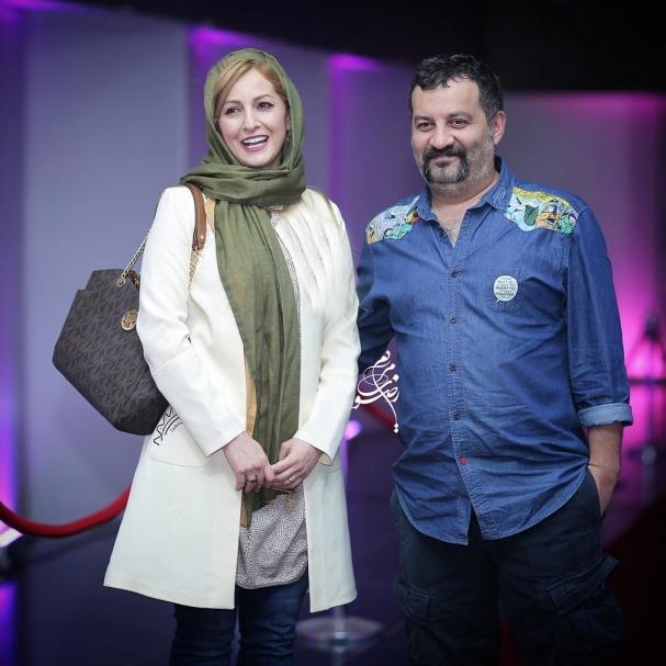 عکس زیبای مهراب قاسمخانی و همسرش شقایق دهقان
