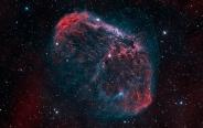 تصویر نجومی روز ناسا (۲۱ خرداد ۹۵): سحابی هلال