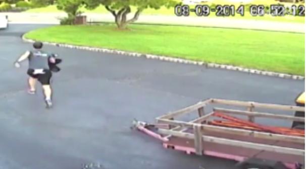 فیلم : صحنه های خنده دار ضبط شده توسط دوربین های مدار بسته