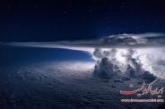 تصاویر بی نظیر از طوفان بر فراز جو زمین