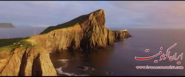 فیلم : مناظر بکر اسکاتلند از آسمان