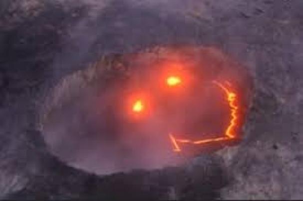 فیلم : آتشفشان میخندد