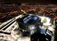 نمای هوایی از استادیوم المپیک در ریو دو ژانیرو