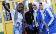 عکس/ سلفی دختران برزیلی با ورزشکاران ایرانی