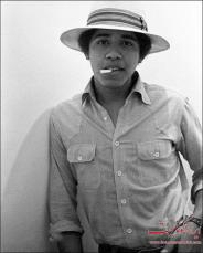 عکس : باراک اوباما در سال 1980