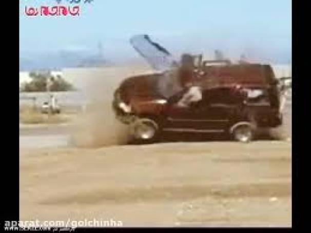 فیلم:هشدار رانندگی در نبستن کمربند ایمنی
