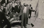 شعبان جعفری در سه تصویر:کودتا،پیری،قبر (عکس)