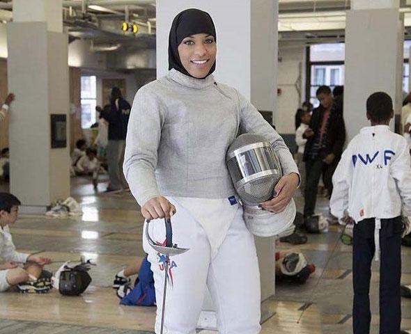 ابتهاج محمد ورزشکار محجبه امریکایی