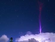ثبت تصویری بینظیر از فوران عظیم و خارقالعاده در چین