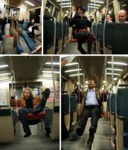 اقدام جالب درمتروهای نیویورک +عكس