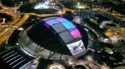 بزرگترین استادیوم گنبدی جهان با سقف الایدی+تصاویر