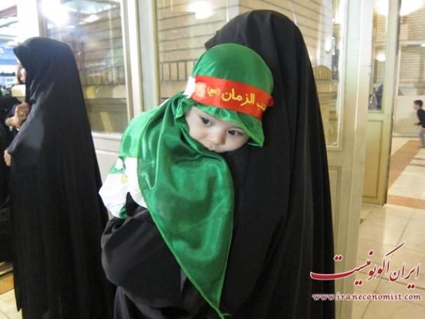 فیلم: مراسم شیرخوارگان حسینی در مصلای امام خمینی(ره) تهران