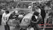عکس : کارخانه مونتاژ ژیان دهه 50