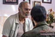 عکس : گریم جمشید هاشم پور در فیلم سینمایی انزوا