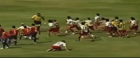 فیلم : منتخبی از کتک خوردن داوران فوتبال