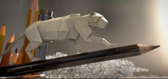 فیلم : انیمیشن کاغذی برای حمایت از حیات وحش