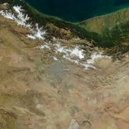 آلودگی هوای تهران از نگاه ماهواره (عکس)