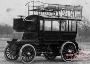 عکس : نخستین اتوبوس دنیا