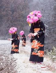 لباس های جالب که ژاپنی ها در مراسم و اعیاد می پوشند