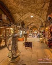 عکس : نمایی زیبا از بازار اصفهان