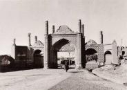 عکس : دروازه تهران قزوین  سال 1305 خورشیدی