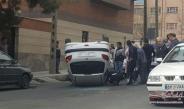 عکس : شاهکار راننده 206 در خیابان های خلوت تهران